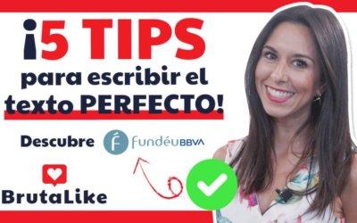 Fundéu BBVA –  5 TIPS para escribir textos PERFECTOS