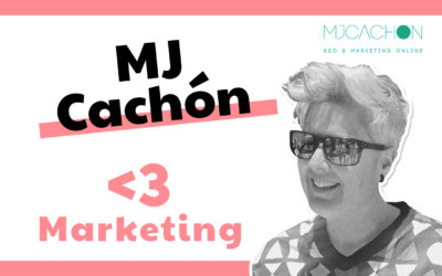 MJ Cachón: SEO, Marketing Digital, diseño de producto y UX