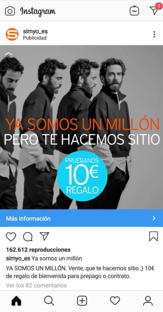 Hacer publicidad en Instagram