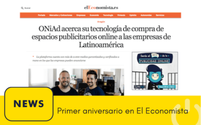 Nuestro primer aniversario en elEconomista.es