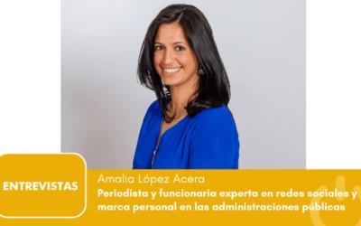 """Amalia López Acera: """"las mujeres solo ocupamos el 30% de los puestos directivos en AAPP"""""""
