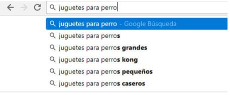 Autocompletado Google Guia Keywords