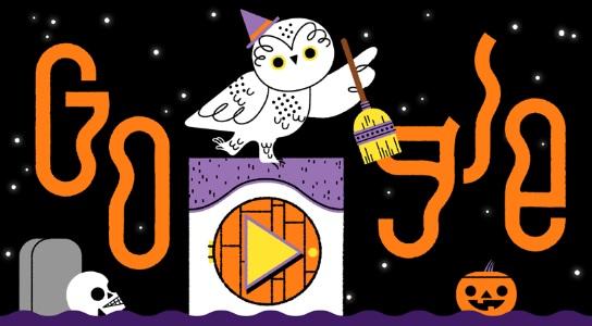 google halloween publicidad