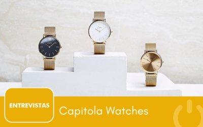 Capitola Watches factura medio millón de euros en un año