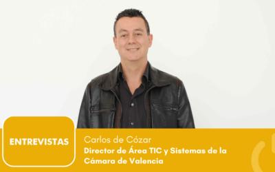 """Carlos de Cózar: """"en la Cámara de Valencia somos fuertes en tecnología y muchas otras Cámaras replican nuestro modelo"""""""