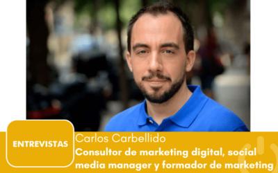 """Carlos Carbellido: """"El sector valenciano en cuanto a marketing digital se encuentra aún en fase de desarrollo"""""""