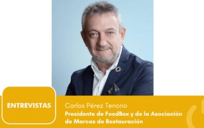 """Carlos Pérez Tenorio: """"FoodBox doblará su tamaño en el próximo quinquenio"""""""