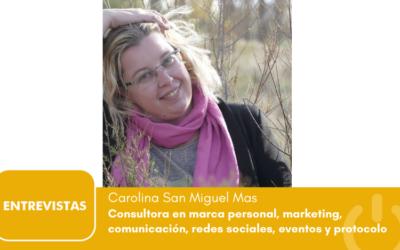 """Carolina San Miguel Mas: """"autobombo, la comunicación de las instituciones públicas"""""""