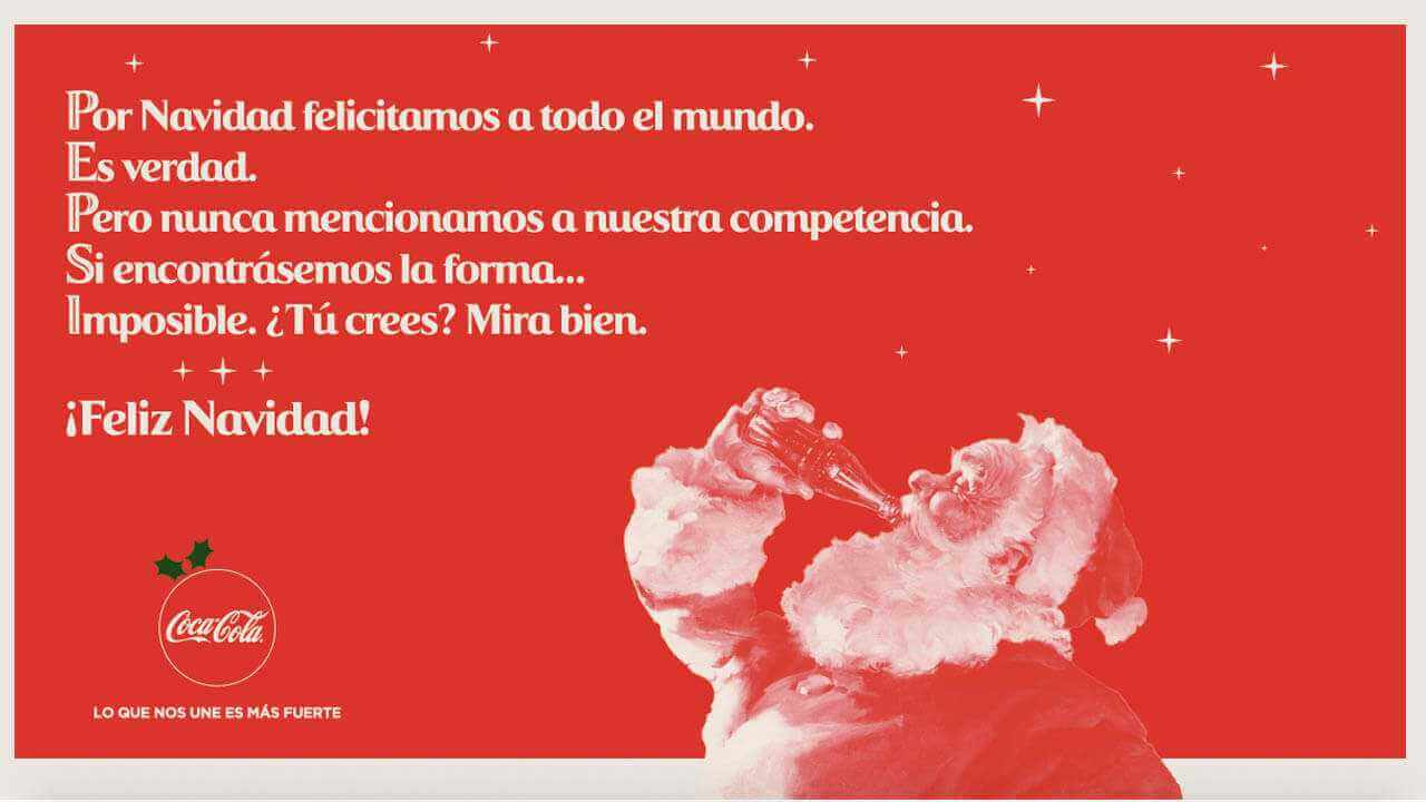 Coca Cola campaña de navidad