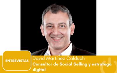"""David Martínez Calduch: """"los tweets no generan ventas"""""""