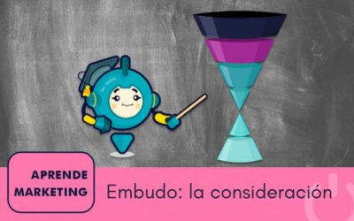 La fase de consideración del embudo de marketing
