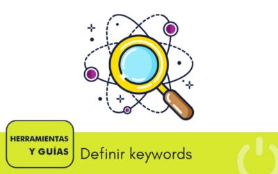Top 5 herramientas para definir keywords