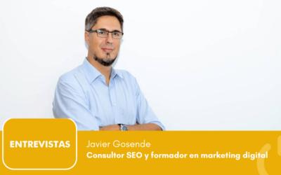 """Javier Gosende: """"lo que se puede medir se puede mejorar"""""""