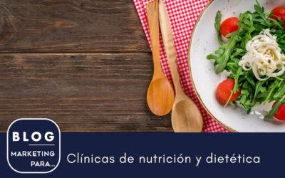 Marketing para clínicas de nutrición y dietética