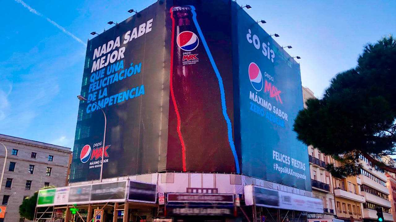 Pepsi campaña de navidad