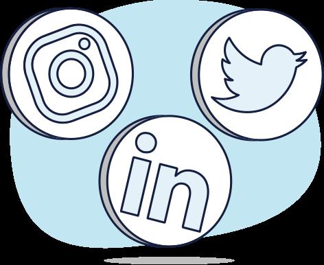 Redes sociales tienda de tecnologia
