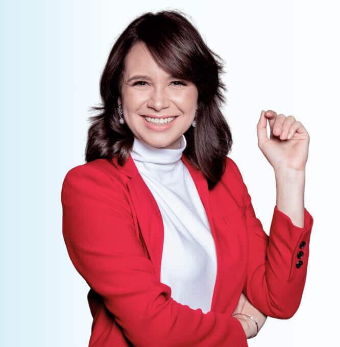 Vilma Nuñez youtuber de marca personal y negocios