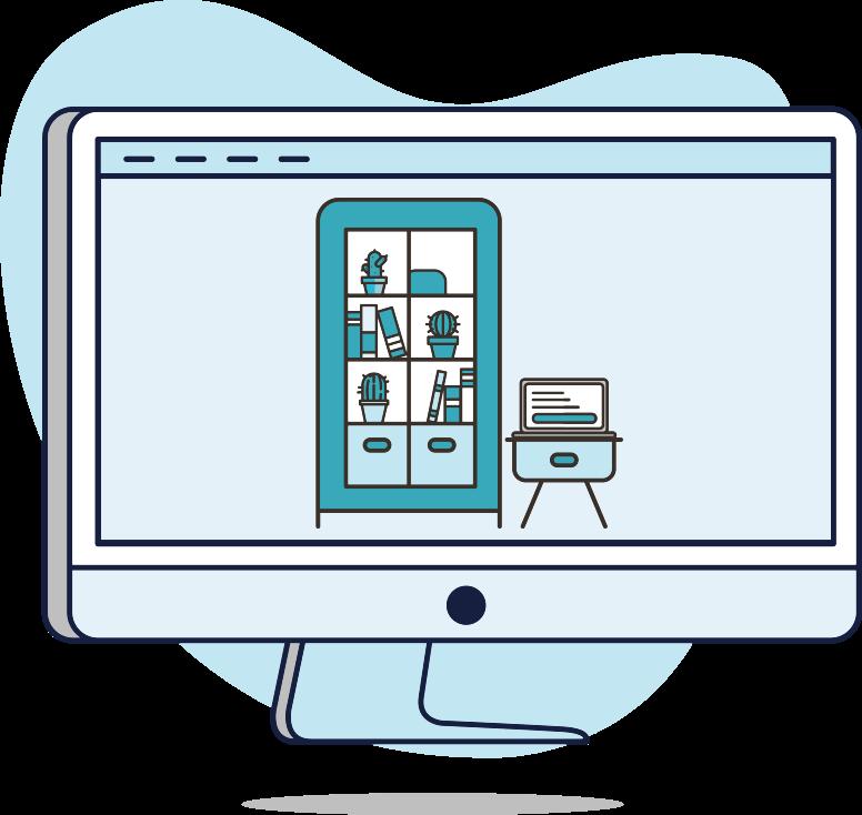 web tienda de decoración y muebles